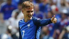 Griezmann celebra un gol ante Irlanda. (Reuters)