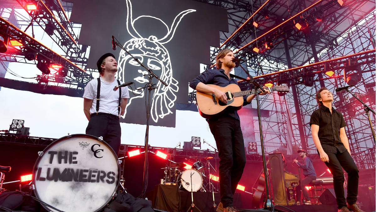 The Lumineers es una banda estadounidense de folk rock. (Foto: Getty)