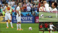 A España no se le da bien jugar de blanco.