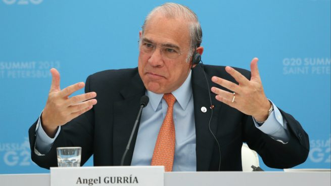 El secretario general de la OCDE, Ángel Gurria (Foto: GETTY).