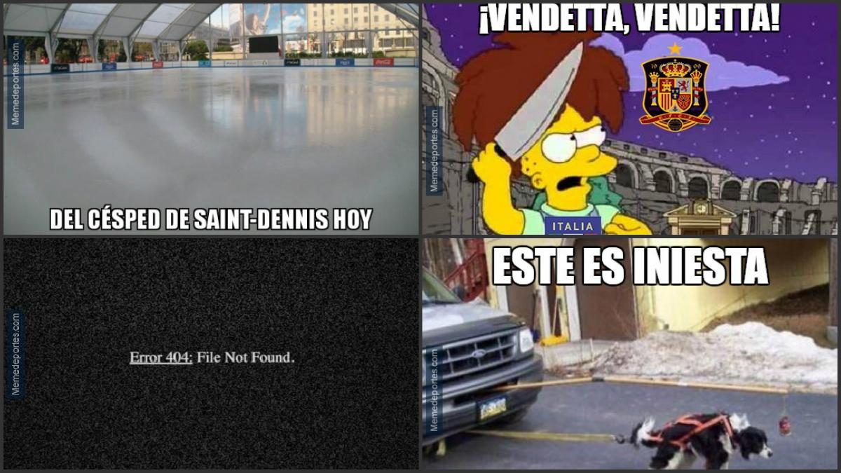 Los 'memes' de la eliminación de España ante Italia