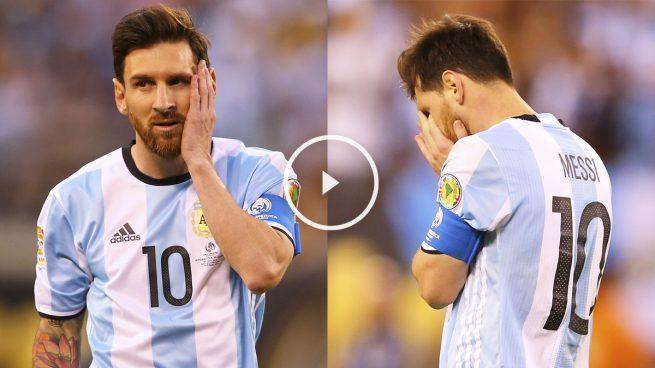 Messi renuncia a Argentina por impotencia: «Ya lo intenté mucho»