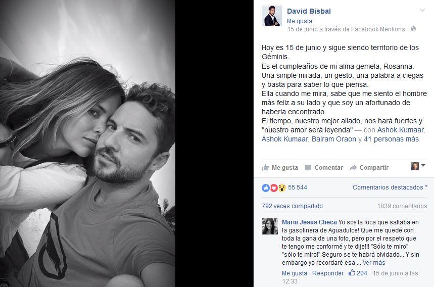 David Bisbal  (Facebook)