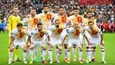 Alineación de España en la Eurocopa. (Getty)