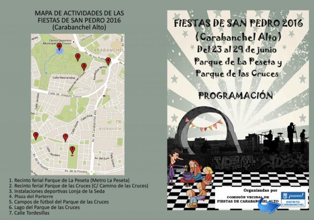 Fiestas del barrio de Carabanchel 2016 pagadas por el Ayuntamiento.