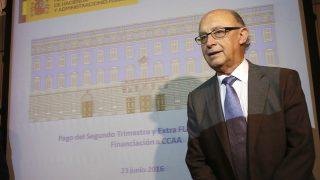 El ministro de Hacienda en funciones, Cristóbal Montoro (Foto: EFE).