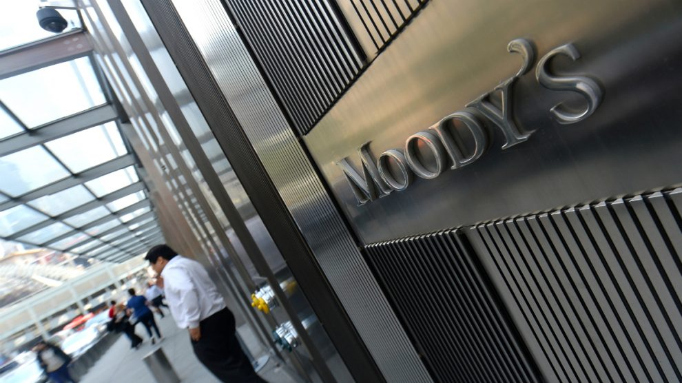 Oficina de Moody's (Foto: GETTY).