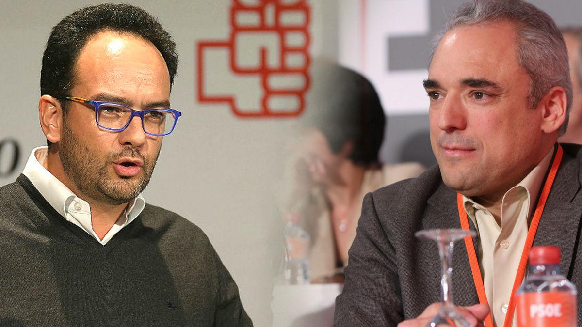 Antonio Hernando y Rafael Simancas.