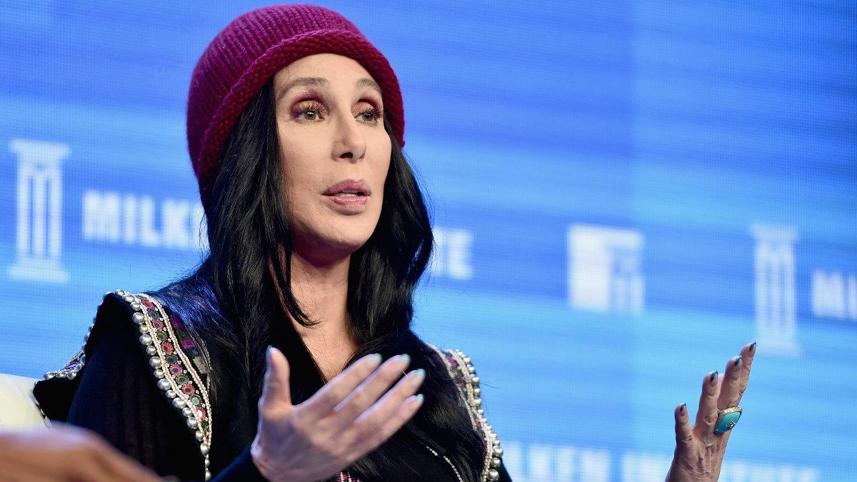 La cantante y actriz Cherilyn Sarkisian, mundialmente conocida por su nombre artístico Cher. (Foto: Getty)
