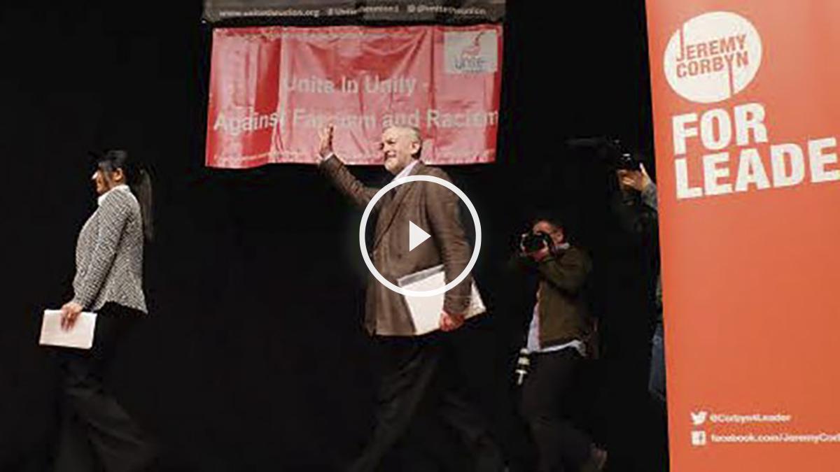 Corbyn llegó al liderazgo del Partido Laborista el pasado verano.