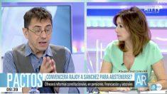 Juan Carlos Monedero en 'El programa de Ana Rosa'. (Foto: Telecinco)