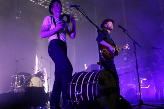 Otro momento del concierto de The Lumineers. (Foto: Alix Guereca)