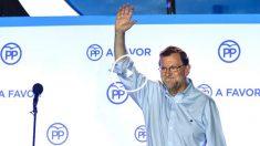 El presidente del PP, Mariano Rajoy. (Foto: AFP)