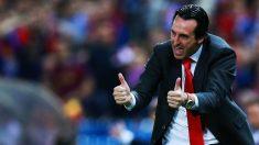 Unai Emery, en un partido con el Sevilla. (Getty)