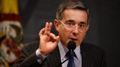 Álvaro Uribe, ex presidente de Colombia y presidente del Centro Democrático. (Foto: Getty)