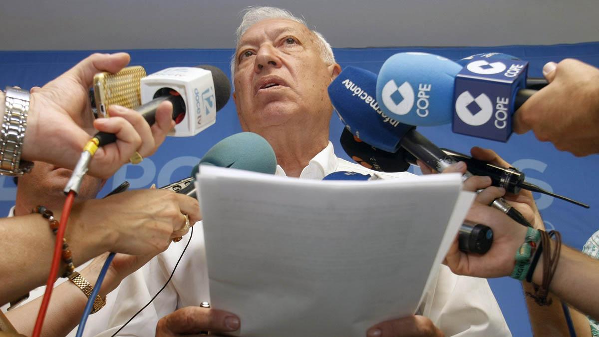 José Manuel García-Margallo. (Foto: EFE)