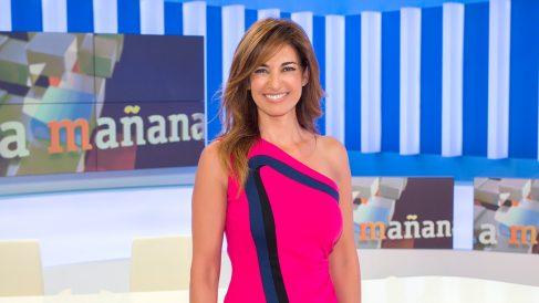 La periodista navarra Mariló Montero en un programa de TVE.
