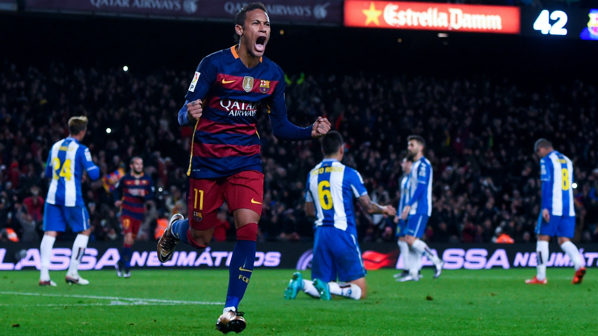 Neymar seguirá en el Barcelona más allá de 2018. (Getty)