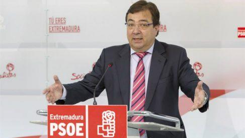 El secretario de los socialistas extremeños, Guillermo Fernández Vara (Foto: Efe)