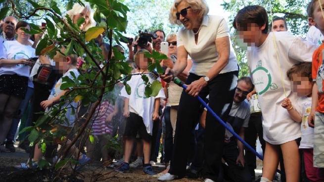 Carmena criará animales y plantas para que se 'coman' la contaminación del aire
