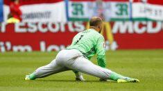 El guardameta de Hungría Gábor Király durante un partido de la Eurocopa. (Reuters)