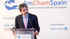 El presidente de la Cámara de Comercio de Estados Unidos en España, Jaime Malet (Foto: AmCham Spain).