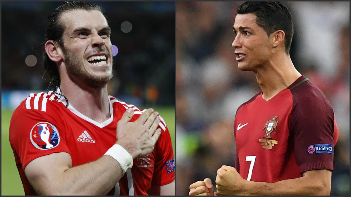 Bale y Cristiano celebran el pase a semifinales. (Reuters y AFP)