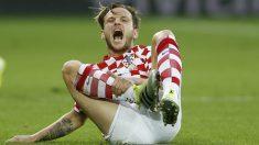 Rakitic durante el partido ante Portugal en la Eurocopa. (Reuters)