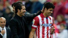 Diego Costa y Simeone. (Getty)