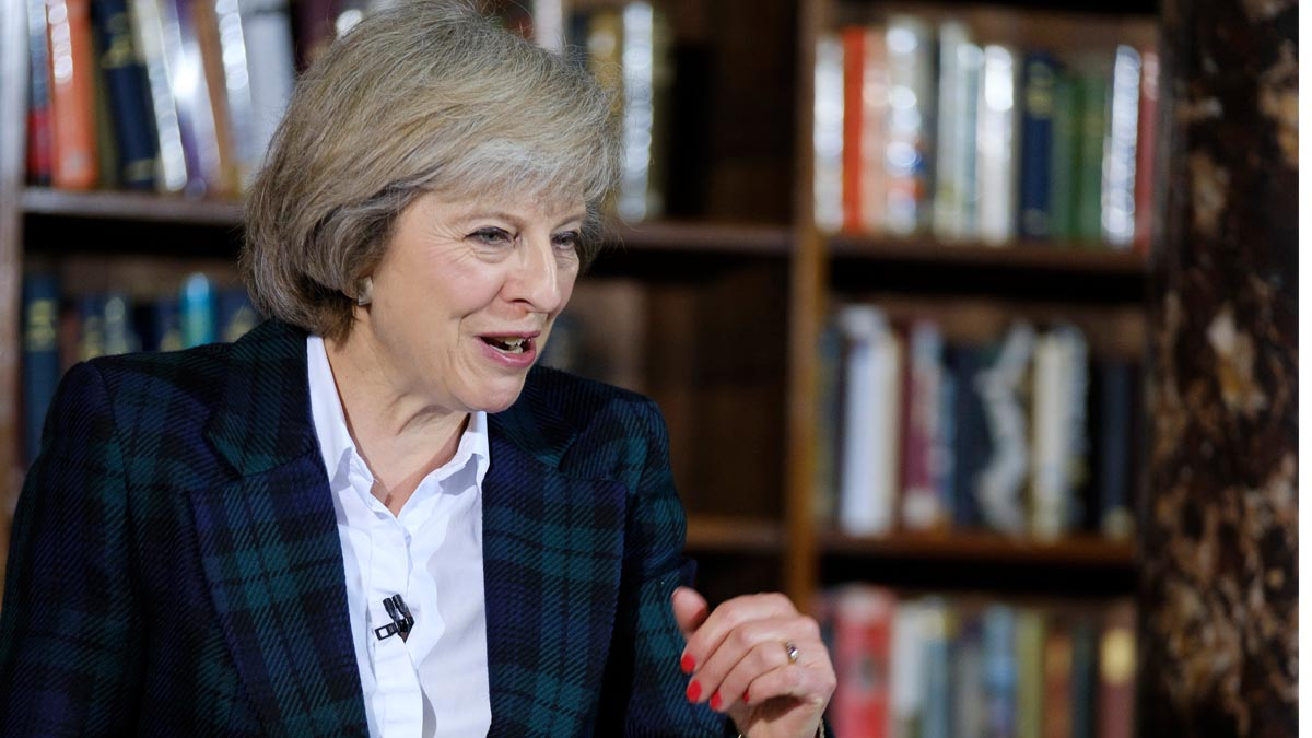 La actual ministra del Interior, Theresa May, favorita para suceder a Cameron. (Foto: AFP)