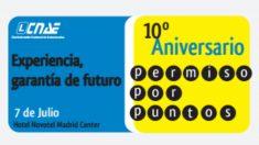 Cartel de la fiesta de CNAE suspendida por Báez.