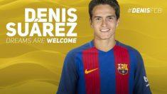 Denis Suárez vuelve al Barça. (fcbarcelona.cat)
