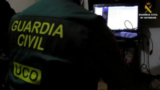 Agentes de la UCO de la Guardia Civil (Foto: GC)