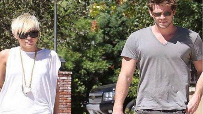 Miley Cyrus y Liam Hemswort