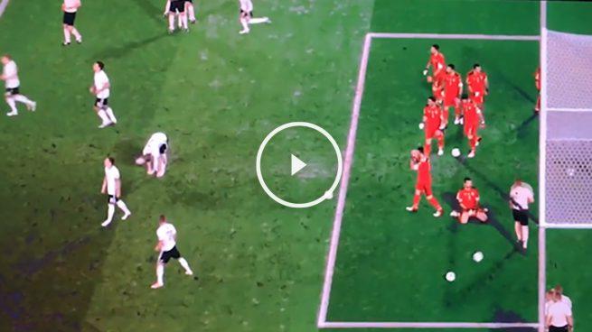 Los penaltis de Alemania e Italia como nunca los habías visto: ¡todos lanzados a la vez!