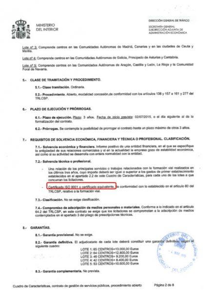 Marta Carrera (DGT) al presidente de CNAE: