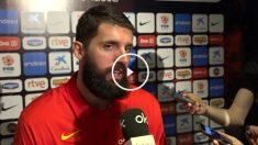Mirotic habla con OKDIARIO en el media day de la selección española.