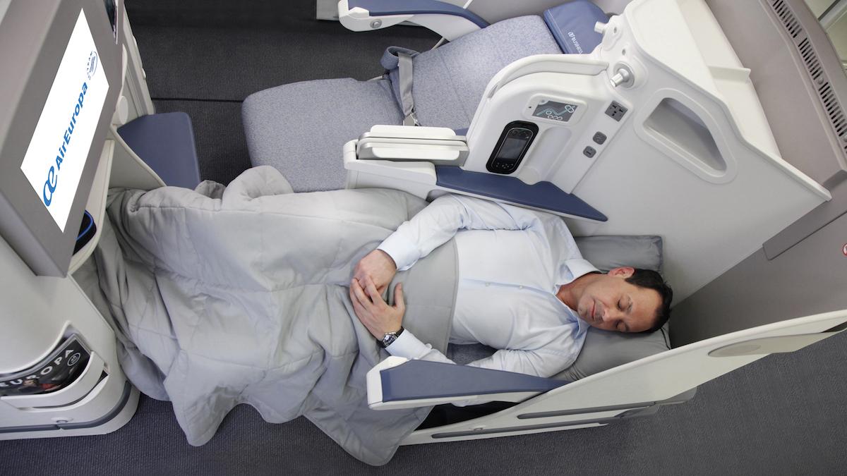 Nueva clase business de Air Europa.