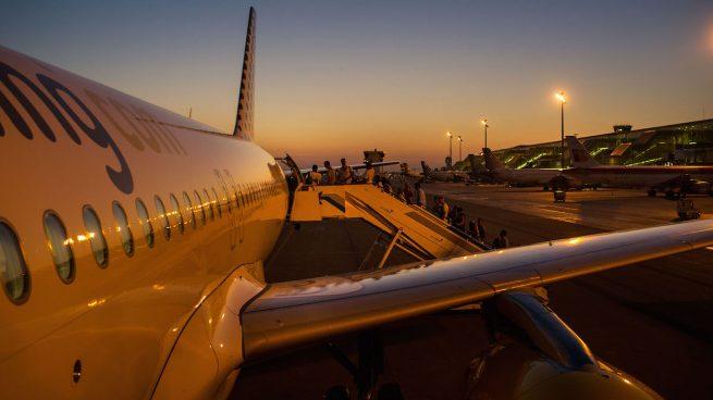 Avión de Vueling-low cost