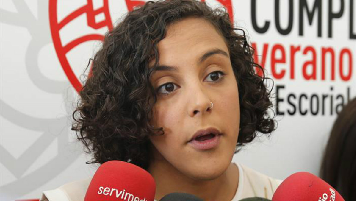La secretaria general de Podemos en el País Vasco y diputada en las Cortes Generales por Gipuzkoa, Nagua Alba (Foto: EFE)