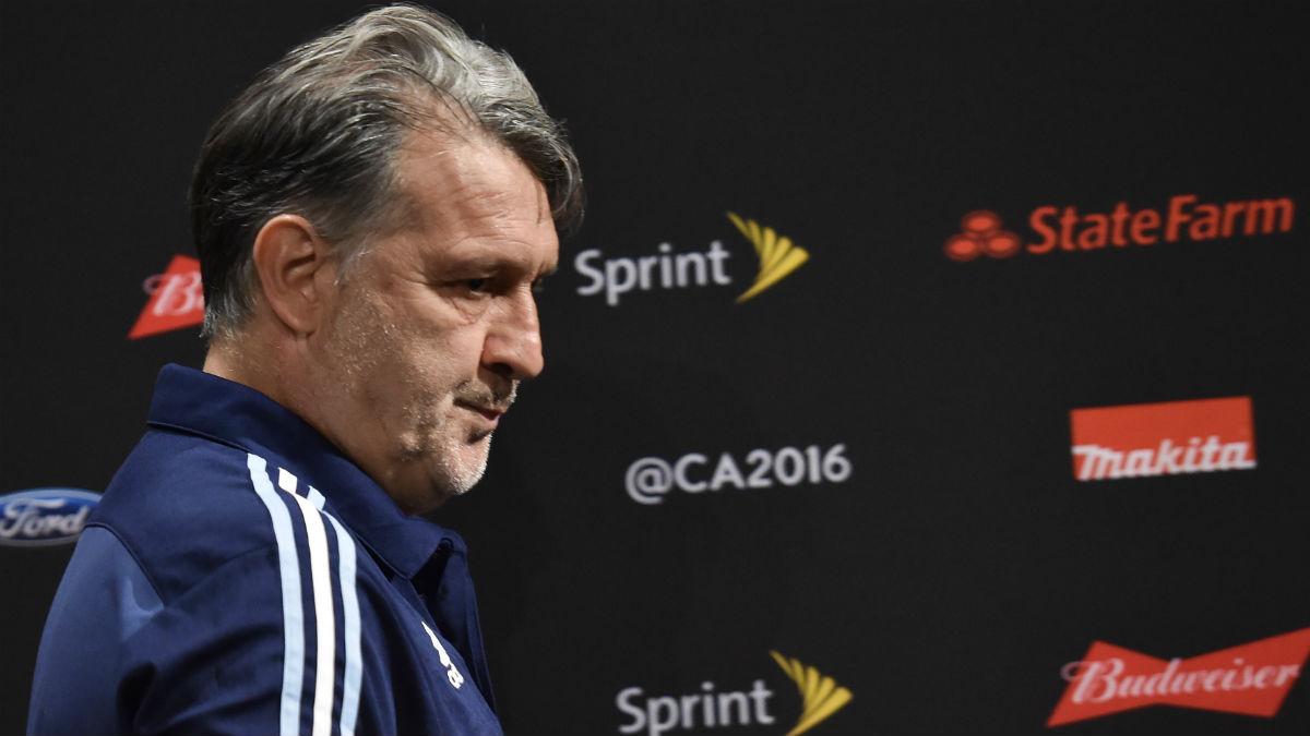 El Tata Martino deja el cargo de seleccionador argentino. (AFP)