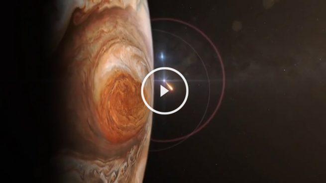 La sonda Juno de la NASA ya está orbitando Júpiter