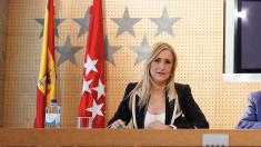 Cristina Cifuentes, presidenta de la Comunidad de Madrid. (Foto: CAM)