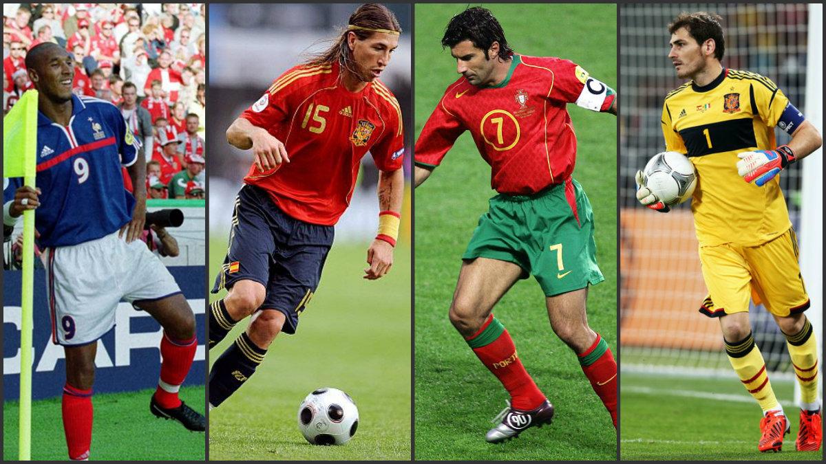 Los madridista que han sido finalistas de Eurocopa en el siglo XXI.