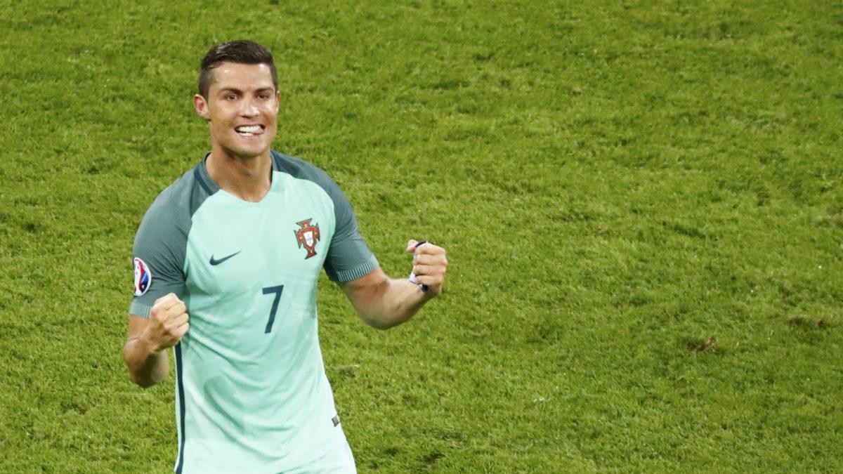 Cristiano celebra el pase de Portugal a la final. (Reuters)