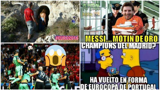 El golazo de Cristiano Ronaldo protagoniza los mejores memes