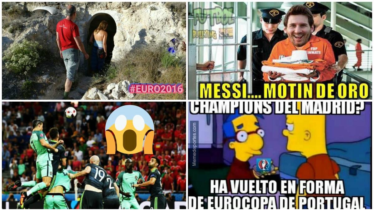 Algunos de los memes del Portugal vs Gales.
