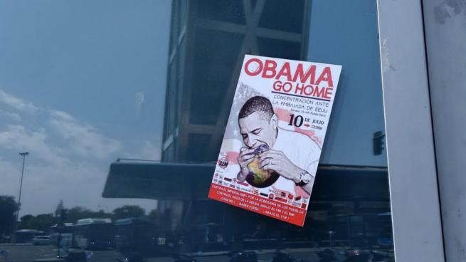 Unidos Podemos boicotea la visita de Obama mientras Iglesias se prepara para recibirlo