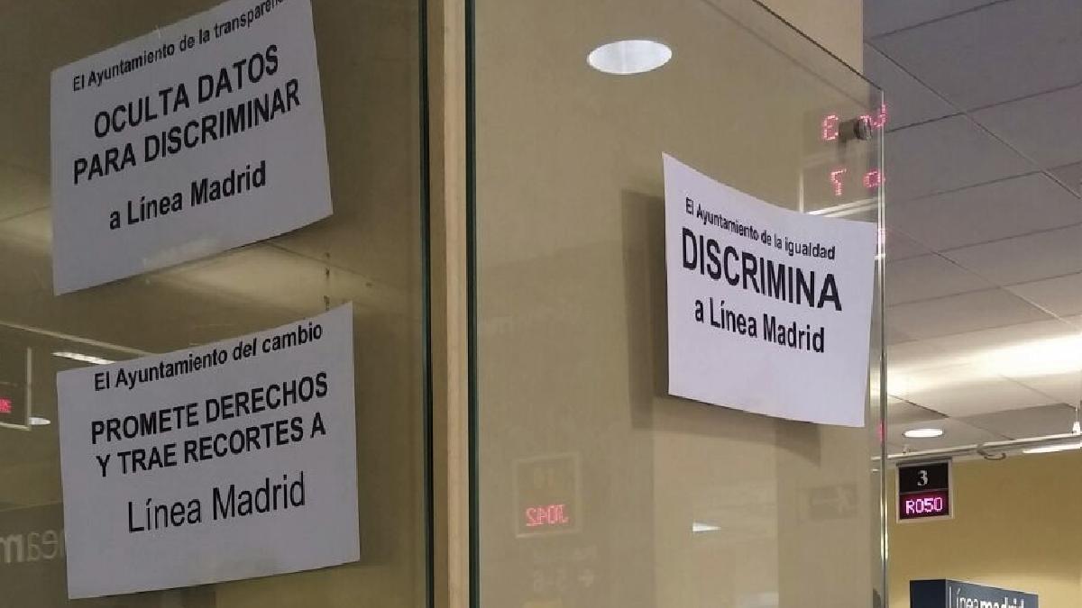 Funcionarios en guerra con carmena el ayuntamiento del for Oficinas linea madrid