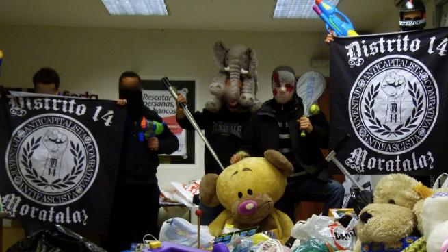 Ahora Madrid apoya a 8 detenidos que salieron a 'la caza del pijo' en Moratalaz